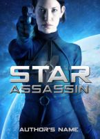 Star Assassin: Premade Book Cover (For Sale) by justaddgigi