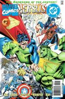 DC vs. Marvel / Marvel vs. DC #3 by englandhalifax