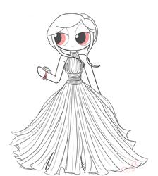 Blossom's Prom Dress (More Than Human) by BornToSpreadMyWings
