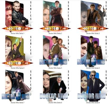 Doctor Who - Windows Folder Icons by Cookie-of-Awesome