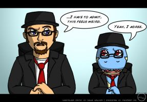 Nostalgia Critic and Croc Crossover Review by Arbok-X