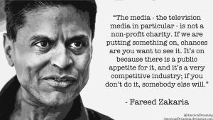 The Media Ain't a Charity by AmericanDreaming
