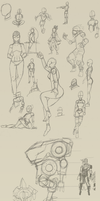 Sketches 2014 by Stachir