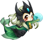 Chibi Nami - League of Legends