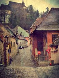 Get lost in Sighisoara by IoaSan