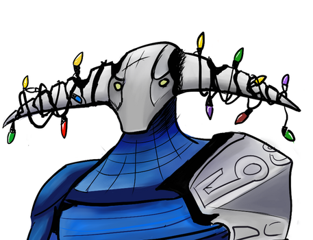 Sven, christmas knight by ChaplinSolus