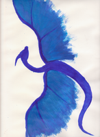 The Blue Dragon by MobMotherScitah