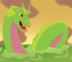 Sea worm by FableworldNA