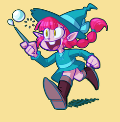 Level 01 Bubble Witch by artistgamergal