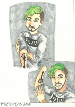 Jacksepticeye- Tattoo by FairyKats