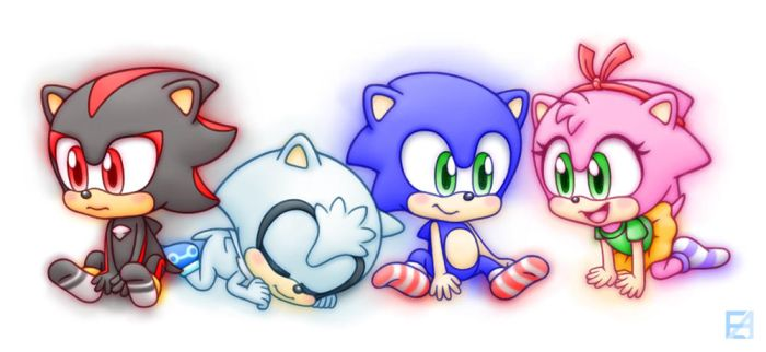 4 Baby Hedgehogs by EAMZE