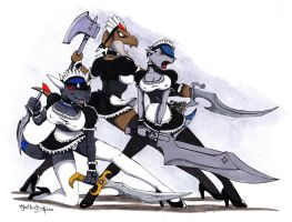 The Lusty Maid Brigade