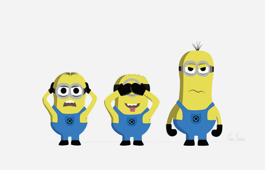 Minions by pukarshrstha