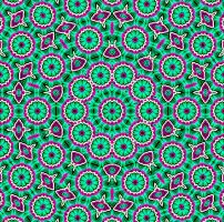 Psychedelic Green by LindenRose