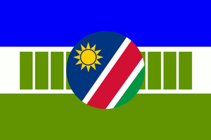 Flag of Ndonga (Ovambo variant in Namibia) by hosmich