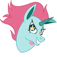 Another Pony Head by woollily