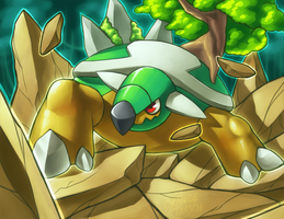 Torterra's Earthquake