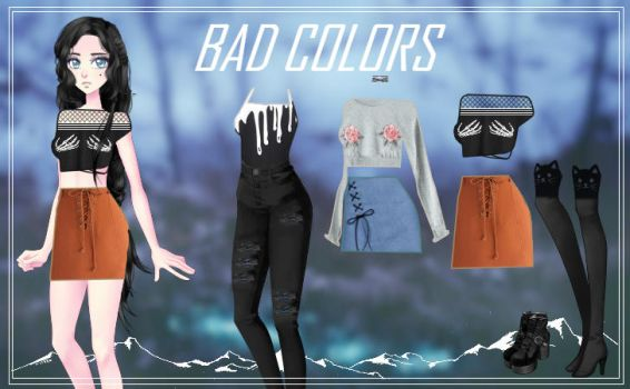CDM Pack -Bad Colors by Yujanitzy