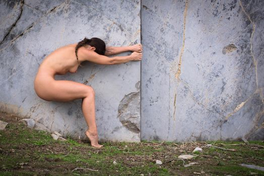 Wall of marble by JudithGeiser