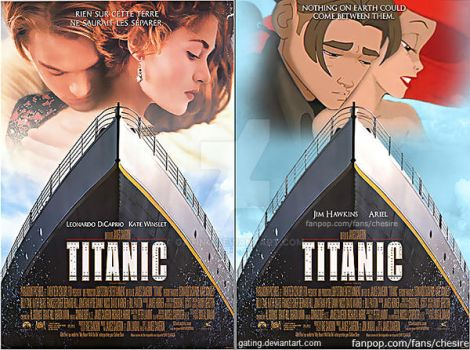 Movie Poster Mashup: Titanic (Disney Version) by gating