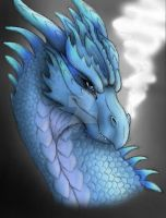 Blue Dragon by KTechnicolour