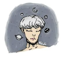 Space Jimin by waiting4hixtape