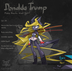 Donalda Trump adoptable [On HOLD] by RatchaArt