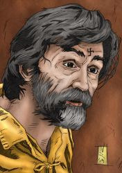 Charles Manson - Artwork 5 by The-Real-NComics