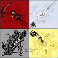 RWBY by EclecticRambling