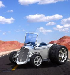 Micro Roadster by PigParadise