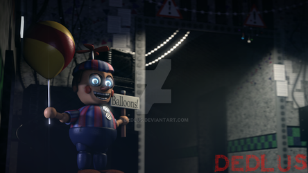 FNaF 2 Office by Dedlus