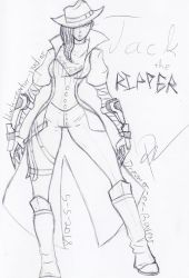 Jack the Ripper - Sk. by Dreamer-Of-Ravens