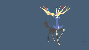 Xerneas by Krukmeister