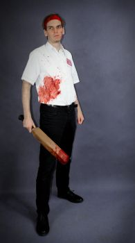 Shaun of the Dead cosplay by Nox-dl