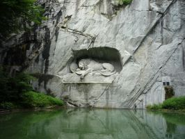 Lion of Lucerne by Isis-Moon