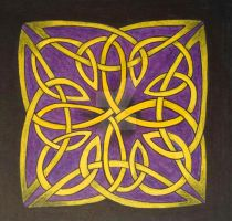 Traditional Cross Celtic Knot by LorraineKelly