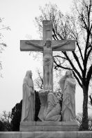 Cemetery - Easter grey by Stock-by-Kai