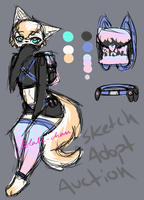 Furry Feline Adopt Auction (open) by Solala-chan