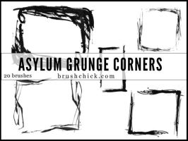 Asylum Grunge Corners by brushchick