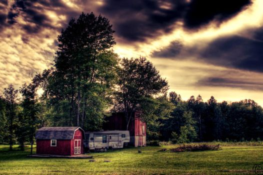 Country. HDR by AyseSelen