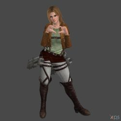 Tina  Military Police officer by DragonLord720
