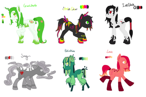My Little Pony Adopts 2 {SOLD OUT} by FlyawayHeart