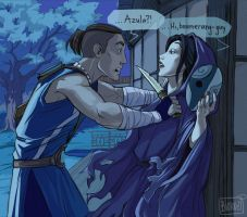 Surprise, Sokka! by Biorn-21