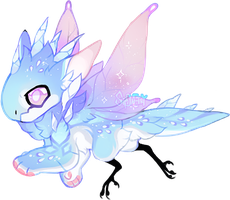 Advent JR 21 - Ice Fairy - closed by Simonetry