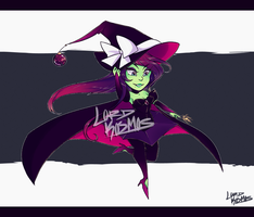 Chibi Witch Adoptable: OPEN ! by Lord-Kosmos