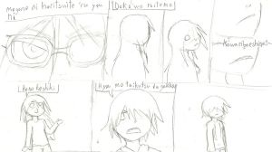 a random/unfinnished lyrics comic by The-Bleached-Dalsuta