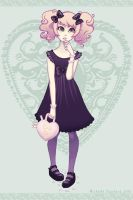 Sugar Sweet Smarties Lolita- Commission by silentillusion