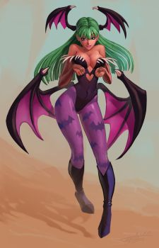 Morrigan by Indofrece