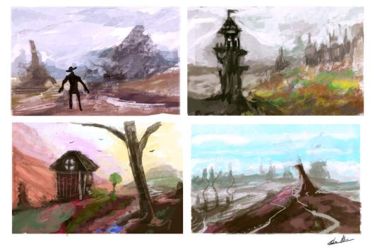 landscape visions 2 by PoetryMan1