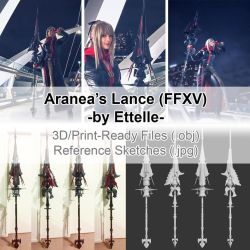 Aranea Highwind - Lance by Ettelle